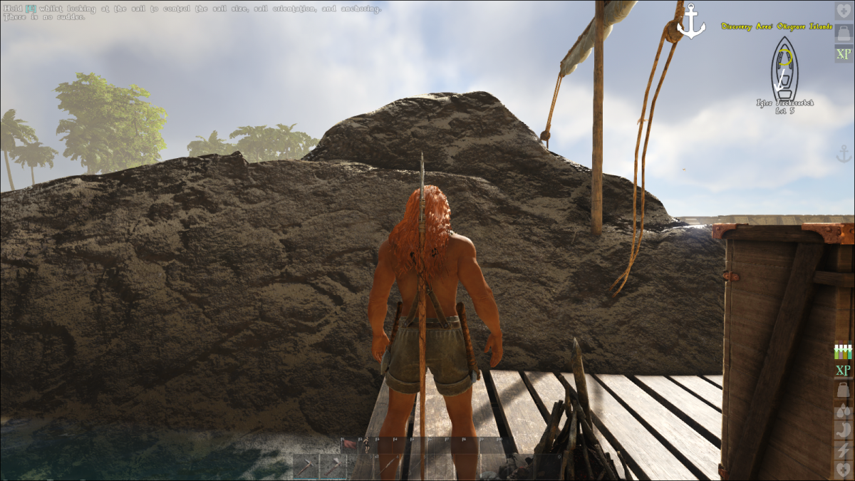 collision detection still uncertain, raft is stuck in rock - Bug