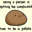 a Moldy Potato