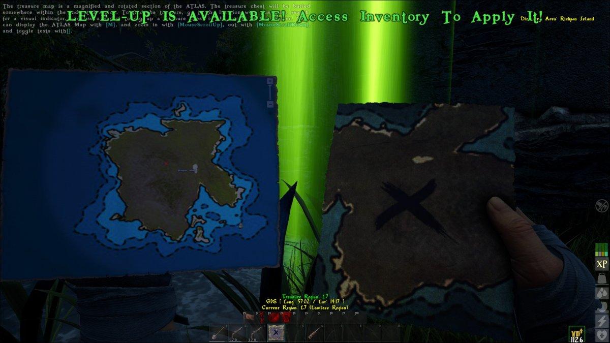 Treasure Map half inside npc house - Bug Reports - Official Atlas
